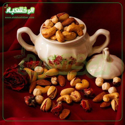 قیمت آجیل مخلوط سفارشی شب عید